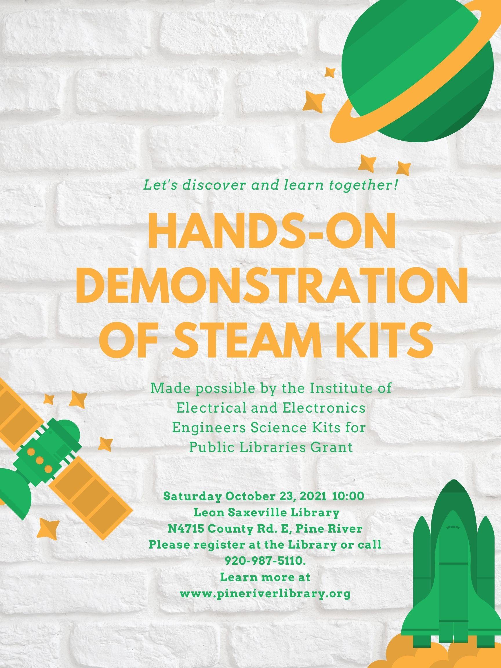 STEAM Kit Demonstration